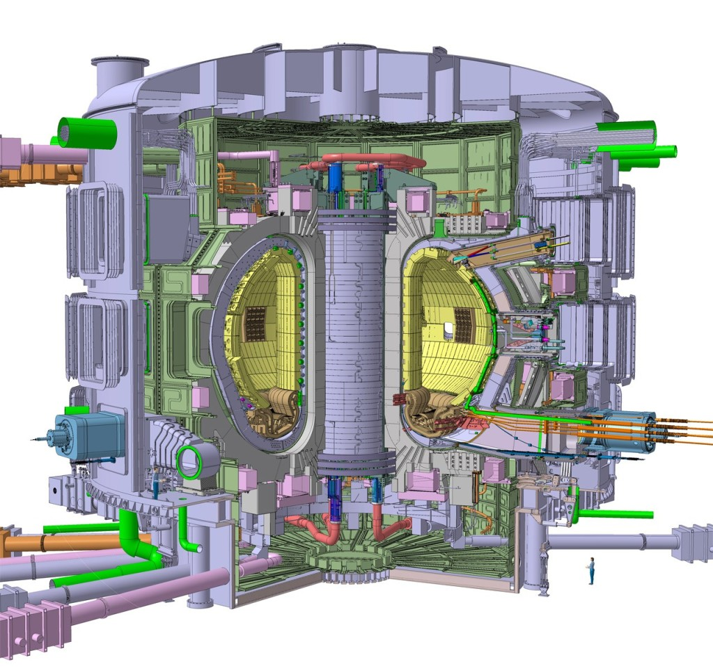 the tokamak fusion reactor